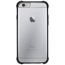 Griffin Survivor Clear odolné puzdro pre iPhone 6/6S - čierne / priehľadné