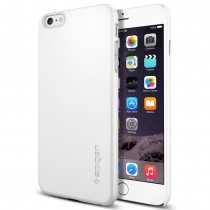Spigen - Thin Fit puzdro pre iPhone 6 Plus - biele
