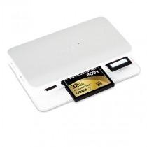 Moshi Cardette Type-C USB-C multiformátová čítačka kariet - White