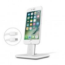 TwelveSouth HiRise Deluxe 2 stojan pre iPhone / iPad - strieborný