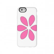 Agent18 FlowerVest puzdro pre iPhone 6 - pink flower