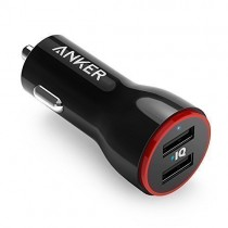 Anker 12W PowerDrive 2-Port nabíjačka do auta - čierna