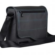 Be.ez LE reporter Metro taška pre iPad - šedá / azurovo modrá