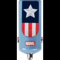 Tribe Marvel Captain America nabíjačka do auta - modrá