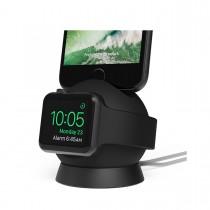iOttie OmniBolt nabíjací stojan pre Apple Watch a iPhone  - čierny
