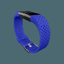 Fitbit Charge 2 náhradný športový remienok modrý - veľkosť L
