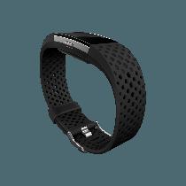 Fitbit Charge 2 náhradný športový remienok čierny - veľkosť L