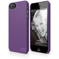 Elago - S5 Breathe Case for iPhone 5/5s - Soft Purple