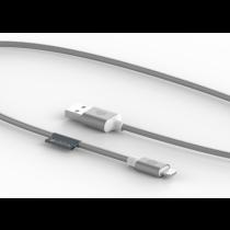 Griffin Premium USB na Lightning kábel (3m) - strieborný
