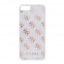 Guess 4G silikónové puzdro pre iPhone 7/8 - priehľadné