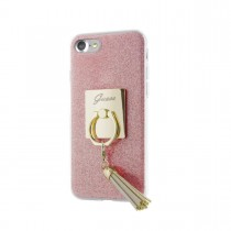 Guess Ring puzdro pre iPhone 7 - ružovo zlaté