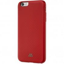 Evutec Karbon SI Nasadzovacie puzdro na iPhone 6 Plus - červené