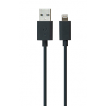 iLuv Premium Lightning kábel 1m - čierny