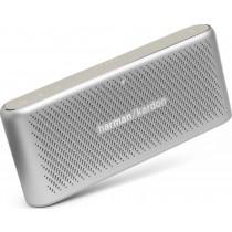Harman Kardon Traveler - prenosný mini reproduktor, 2x5W, Bluetooth - strieborný