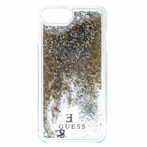 Guess Liquid Glitter puzdro pre iPhone 7/6s/6 - zlaté