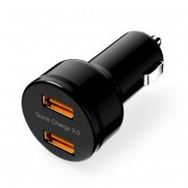 Ultrafast Dual nabíjačka do auta s 2x 3,8A USB Qualcomm QuickCharge 3.0 porty