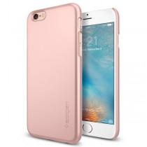 Spigen Thin Fit puzdro pre iPhone 6/6s - ružovo zlaté