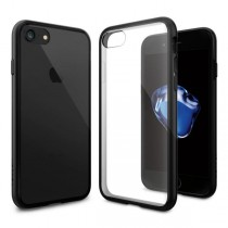 Spigen Ultra Hybrid - ochranný kryt pre iPhone 7 - čierny