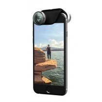 olloclip 4in1 - Optická šošovka pre iPhone 6/6 Plus - strieborná