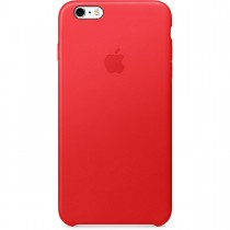 Apple - iPhone 6s Plus Leather Case - (PRODUCT)RED