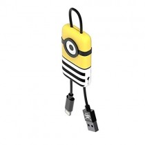 Minions Jail Time Minion Lightning kábel - prívesok na kľúče (22cm)