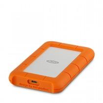 Lacie - 1TB Rugged USB-C externý disk - strieborný/oranžový