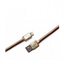PlusUs LifeStar Premium nabíjací a synchronizačný kábel USB - Lightning - žltý