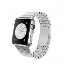 Apple Watch - 38mm puzdro z nerezovej ocele s článkovým remienkom