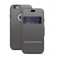 Moshi SenseCover puzdro pre iPhone 6 - čierne