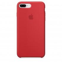 Apple - iPhone 8 Plus / 7 Plus silikónový kryt - červený - (PRODUCT)RED