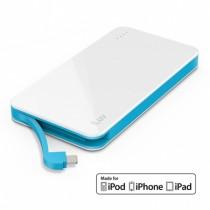 iLuv myPower 5000mAh záložná batéria - biela