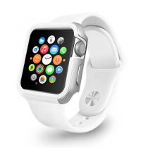 Ozaki O!coat Shockband, rámik pre Apple Watch 42mm - biely