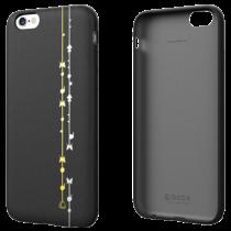 OCCA Premiere Collection kožené puzdro pre iPhone 6/6s - čierne