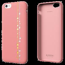 OCCA Premiere Collection kožené puzdro pre iPhone 6/6s - ružové