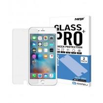 Odzu Pro+ ochranné sklo 2 ks pre iPhone SE - priehľadné