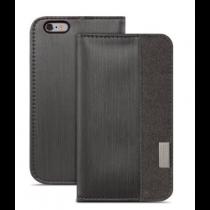 Moshi Overture peňaženkové puzdro pre iPhone 6 Plus - čierne