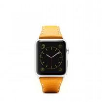 SLG Design - D6 kožený náramok pre Apple Watch 42mm - Tan