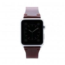 SLG Design - D7 kožený náramok pre Apple Watch 42 mm - hnedý