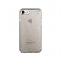 Speck Presidio puzdro pre iPhone 7 - priehľadné so zlatými trblietkami
