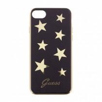 Guess Stars ohybný kryt pre iPhone 7/8 - čierny