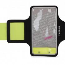 Tucano Ultra slim armband pre iPhone 4-6 Plus - zeleno čierny