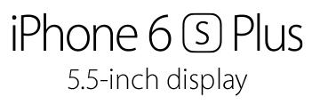iPhone 6s Plus title