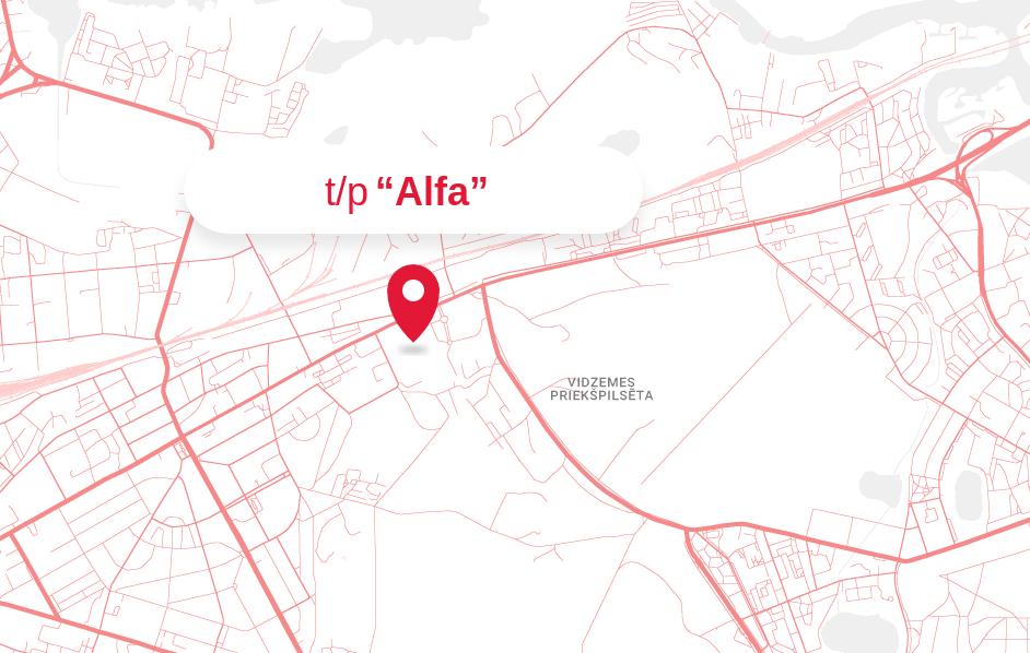 Karte - t/p Alfa